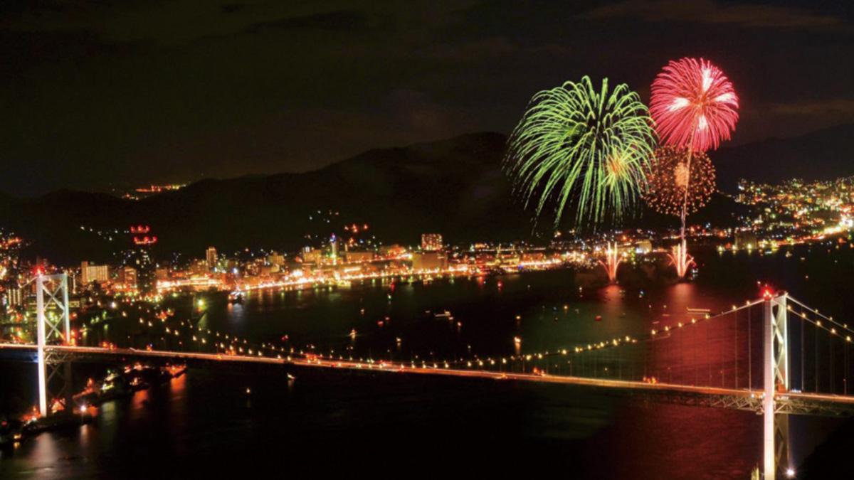 Kanmon Strait Fireworks Festival